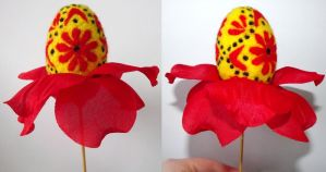Red Egg by my-craftmania
