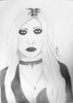 Taylor Momsen by RienneCheshire