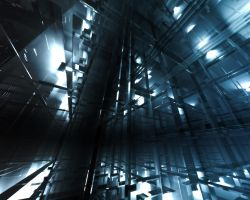 Elevator Shaft by firefoxcentral