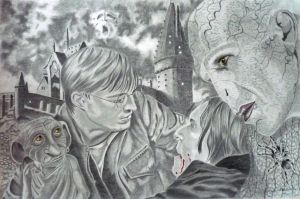 harry potter tribute by shirls-art