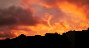Sunset Over Berlin 104 by ErinM2000