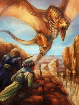 Desert Dragon by thegryph