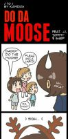 J to J: Do Da Moose by KamiDiox