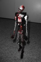 ZOMBIE in wire by TheWallProducciones