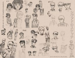 Fan Art Sketches by Prismatic-Prince