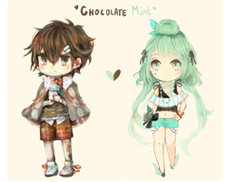 Chocolate Mint by dewli
