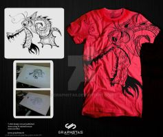 dragon.t.shirt by graphstas