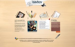 isavkov.net red - portfolio by sandprince