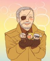 MGS - my little snakes by FerioWind