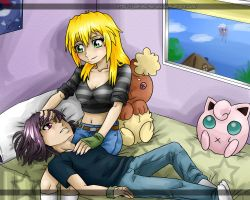 PCOM: have some rest... by Jeshika-Haruno
