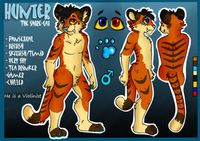 Hunter reff sheet -edited/updated- by The-Shy-Violinist