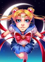 Sailor Moon by Gabbi