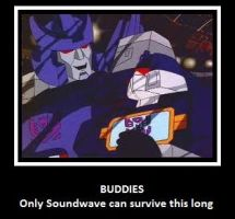 Buddies and purple Autobots by Wannabe-Star