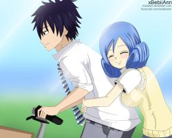 Gray and Juvia by xBebiiAnn