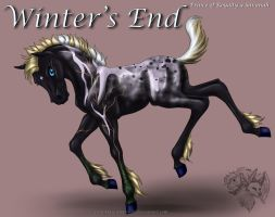Royal x Savanah - Winter'sEnd by FlareAndIcicle