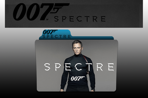 007 Spectre {2015} Movie Folder Icon by MoisisMaged