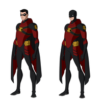 Red Robin Titans Designs by Bobkitty23