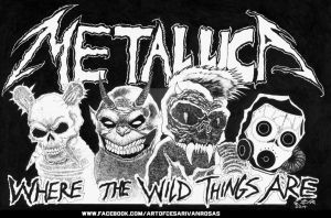 METALLICA - WHERE THE WILD THINGS ARE by CZR31
