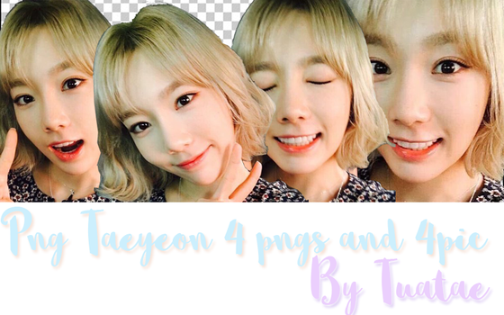 Png and Pic taeyeon by Tuatae