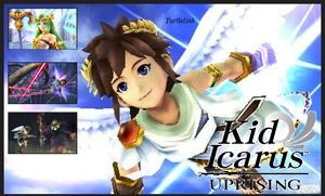 Kid Icarus Uprising Banner by Turtletish