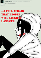 Ask Jeff The Killer-Question 18. by MikaelBratLoni