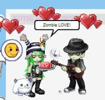 Zombie Love by money4cocaine