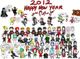 Happy New Year 2012 by Mahadesu
