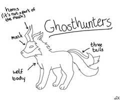 New Species: Ghosthunters by LizzysAdopts
