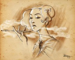 Snooty Lady by Loleia