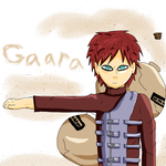 Gaara by FlyingWithFire