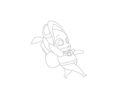 Teemo Running Animation by sinefinehabitarevolo