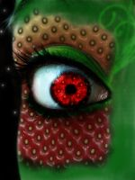 Strawberry Eye by OmgItsManders