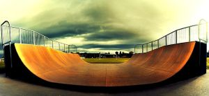 THE HALFPIPE by martybell