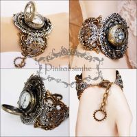 Locket wrist watch I by Pinkabsinthe