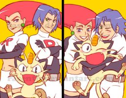 Pokemon - Team Rocket Fun Time by rasenth