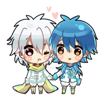 dmmd: clearao babies by hinata-hime