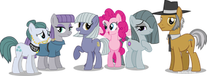 Pinkie Pie's Family revised by Vector-Brony