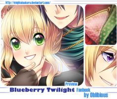 Blueberry Twilight Preview by MagicalSakura