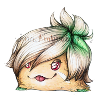 RIVEN Poro [League of Legends] by AnaPunda
