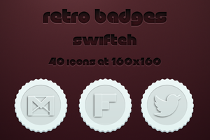 Retro Badges by ryan1mcq