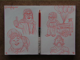 Animation Sketches - UP by AngelGanev
