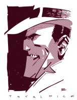 Dick Tracy by Andy Kuhn by AshcanAllstars