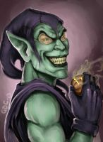 Kiriban: Green Goblin by Giando1611990