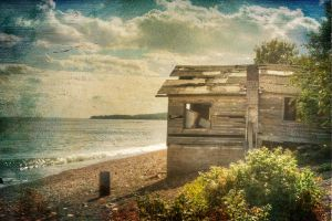 The old boat house by mstargazer