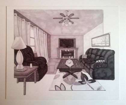 Livingroom Perspective by CurtisSwain