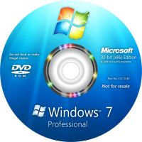 Windows 7 Professional Disc by yaxxe