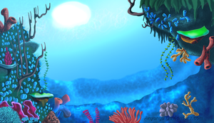 Reef Background Version 2 by Starimo