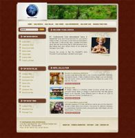 Bali exotica web interface by todoroki