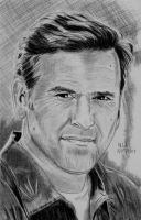 Bruce Campbell by X-Enlee-X