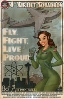 Fly, Fight, Live Proud by Mike Shampine by mikeshampine